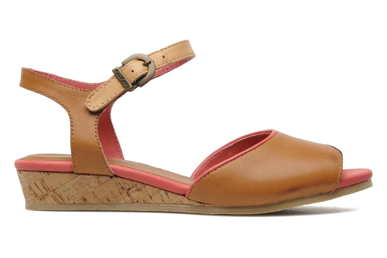 Sandalen Kickers Coco braun ansicht von hinten