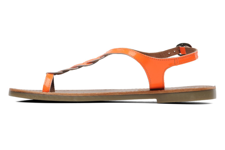 Sandales et nu-pieds Kickers Djinny Orange vue face