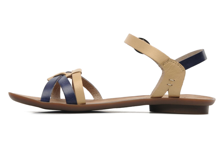 Sandalen Kickers Zephir Blauw voorkant