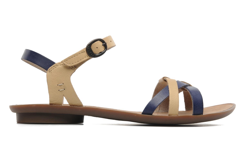 Sandalen Kickers Zephir Blauw achterkant