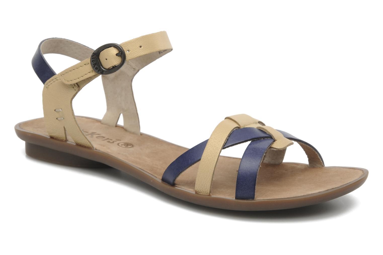 Sandalen Kickers Zephir Blauw detail