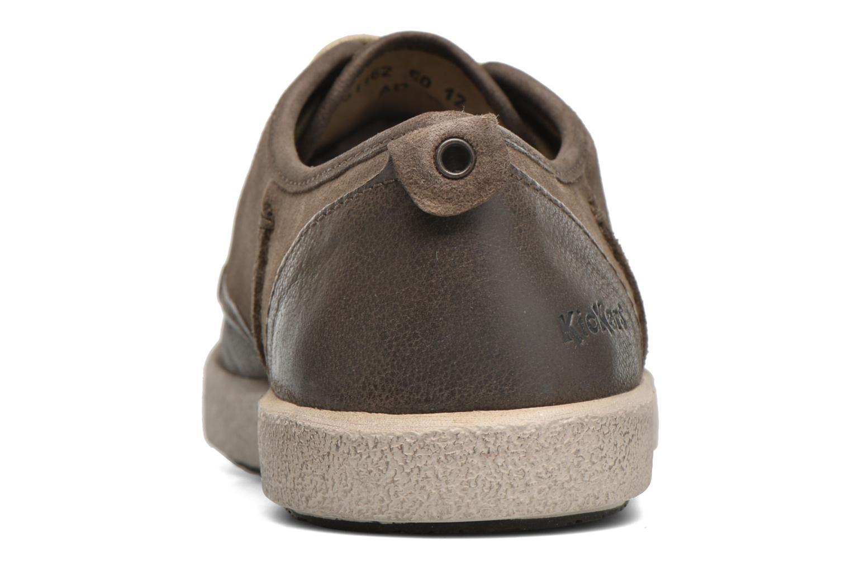 Chaussures à lacets Kickers Koolmax Multicolore vue droite