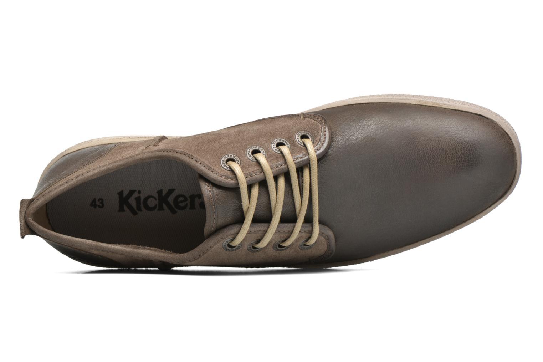 Chaussures à lacets Kickers Koolmax Multicolore vue gauche