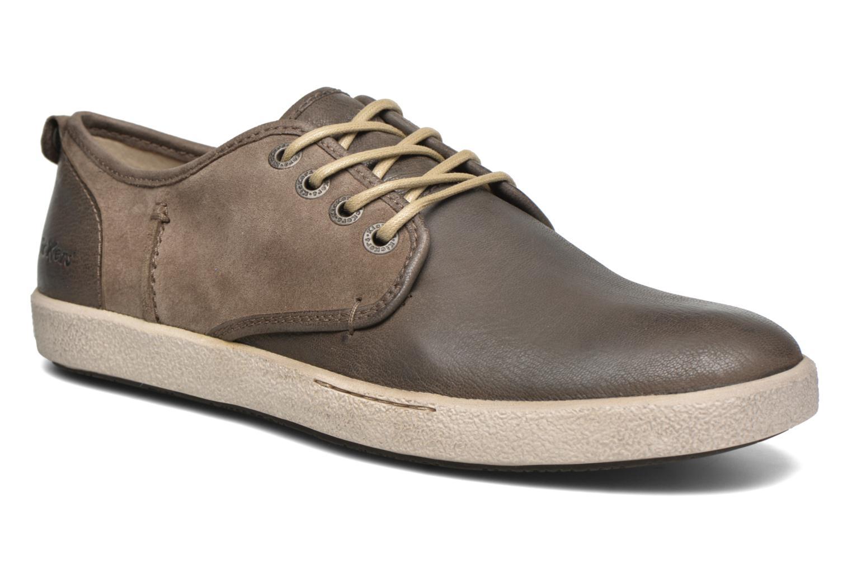 Chaussures à lacets Kickers Koolmax Multicolore vue détail/paire
