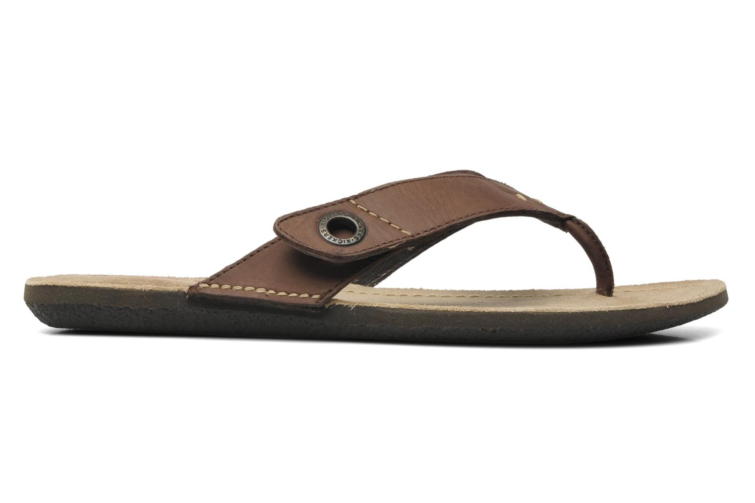 Tongs Kickers Spacy Marron vue derrière