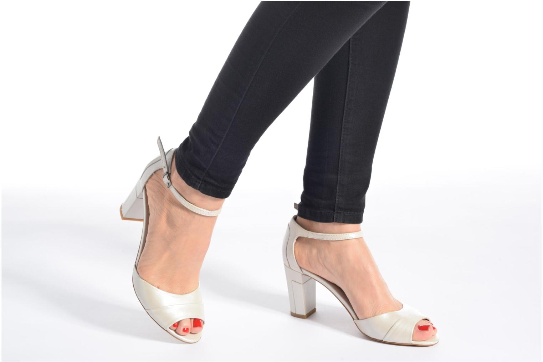 Sandali e scarpe aperte Perlato Pone Bianco immagine dal basso