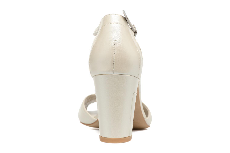 Sandaler Perlato Pone Hvid Se fra højre