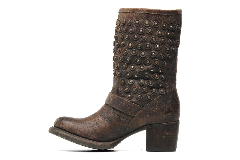Bottines et boots Frye Vera Disc Short Marron vue face