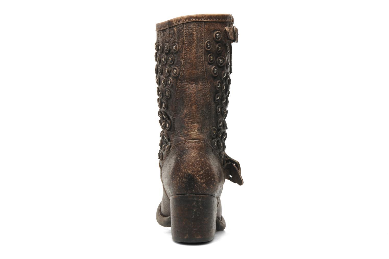Bottines et boots Frye Vera Disc Short Marron vue droite
