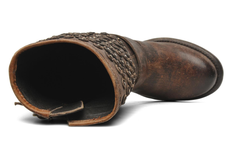 Bottines et boots Frye Vera Disc Short Marron vue gauche