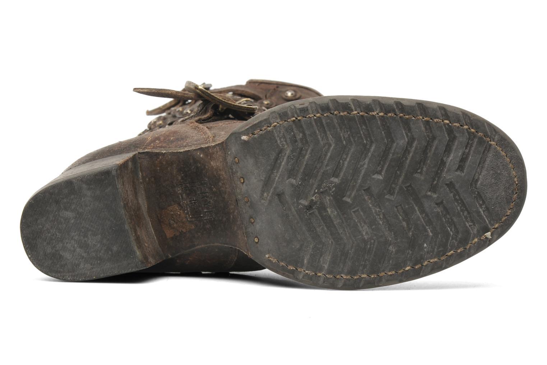 Bottines et boots Frye Vera Disc Short Marron vue haut