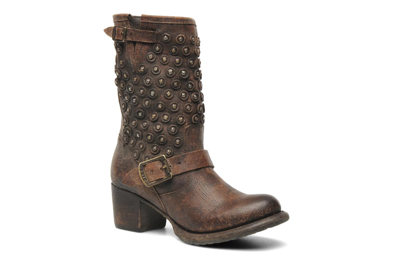 Bottines et boots Frye Vera Disc Short Marron vue détail/paire