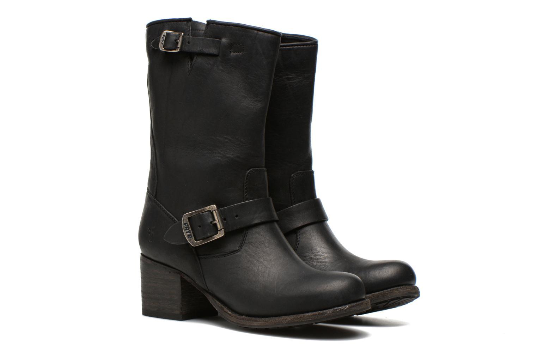 Bottines et boots Frye Vera Short Noir vue 3/4