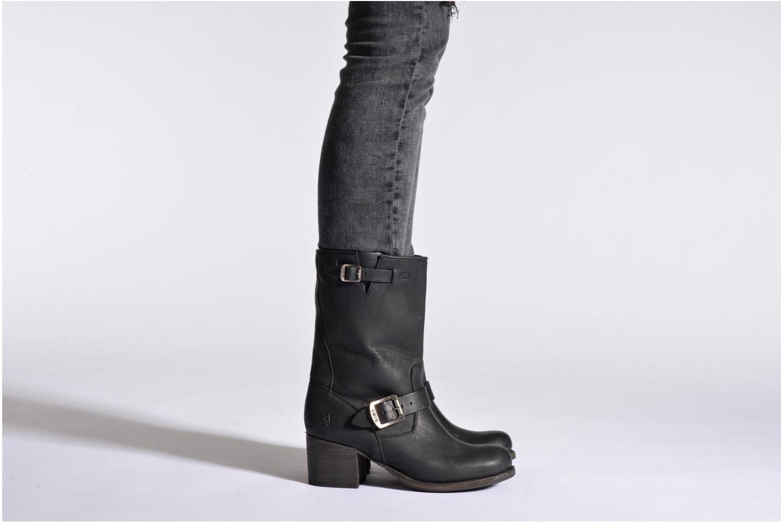 Bottines et boots Frye Vera Short Noir vue bas / vue portée sac