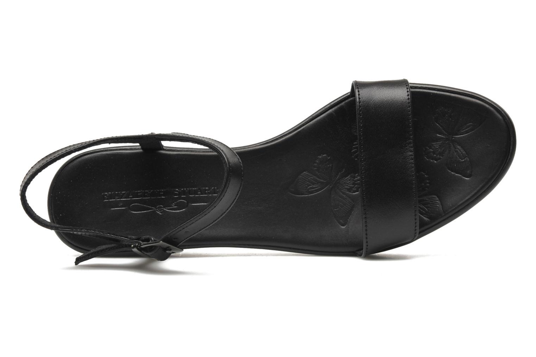 Sandales et nu-pieds Elizabeth Stuart Villa 304 Noir vue gauche