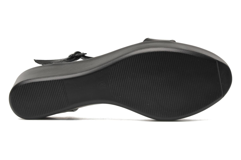 Sandales et nu-pieds Elizabeth Stuart Villa 304 Noir vue haut