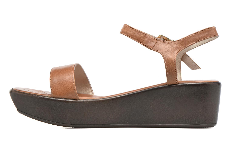 Sandales et nu-pieds Elizabeth Stuart Villa 304 Marron vue face