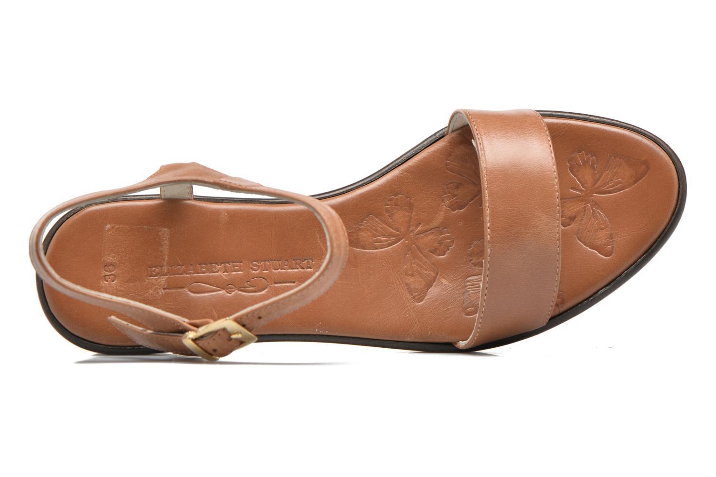 Sandales et nu-pieds Elizabeth Stuart Villa 304 Marron vue gauche