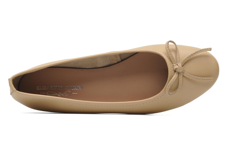 Ballerinas Elizabeth Stuart Cesarine 830 beige ansicht von links