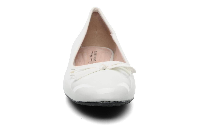 Ballerinas Elizabeth Stuart Castel 813 weiß schuhe getragen