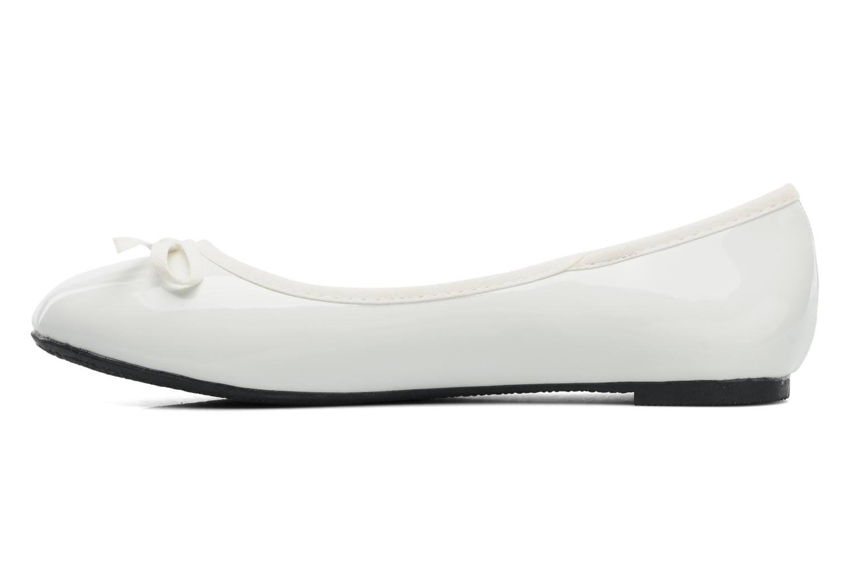 Ballerina's Elizabeth Stuart Castel 813 Wit voorkant