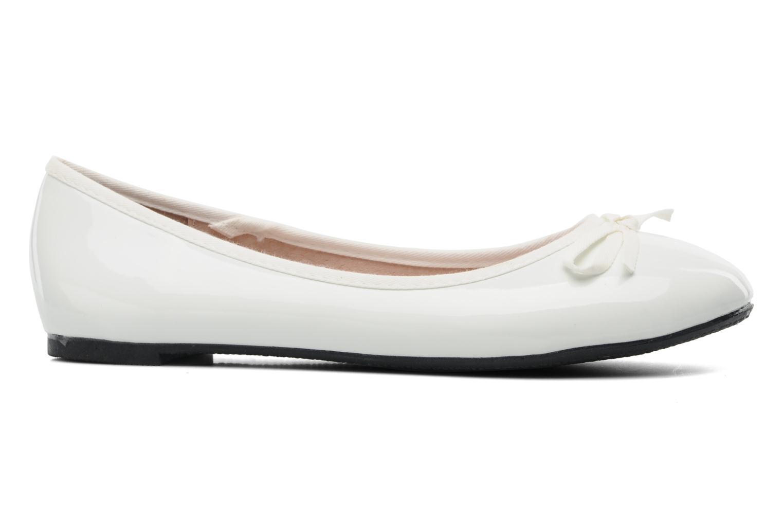 Ballerina's Elizabeth Stuart Castel 813 Wit achterkant