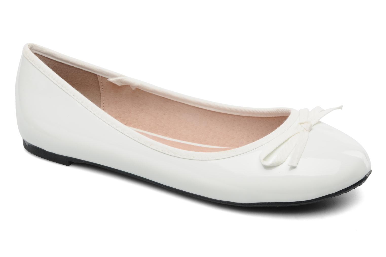 Ballerines Elizabeth Stuart Castel 813 Blanc vue détail/paire