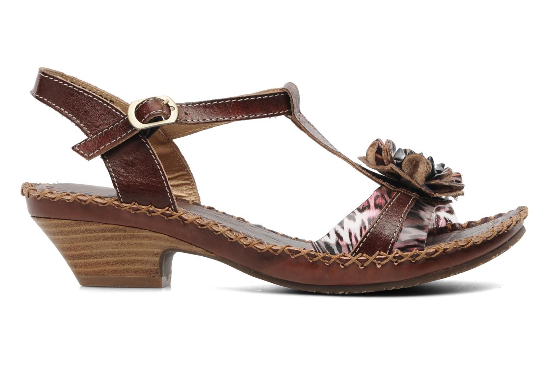 Sandales et nu-pieds Laura Vita Paradore Marron vue derrière
