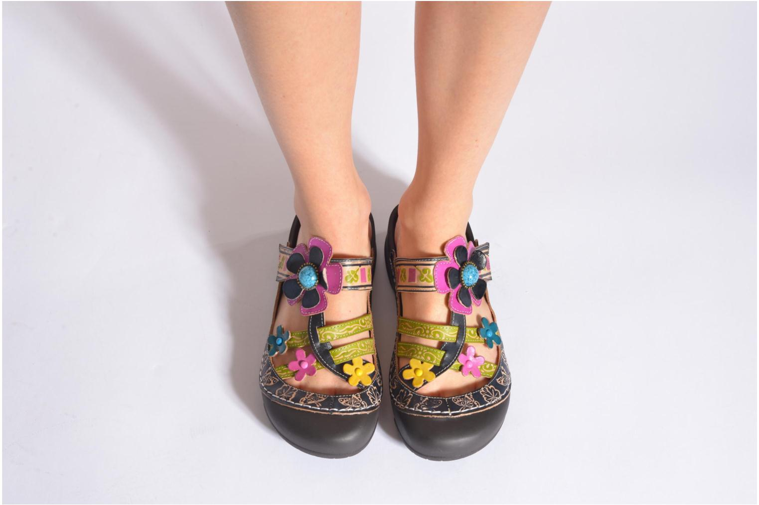 Mules & clogs Laura Vita Phenix Multicolor view from underneath / model view