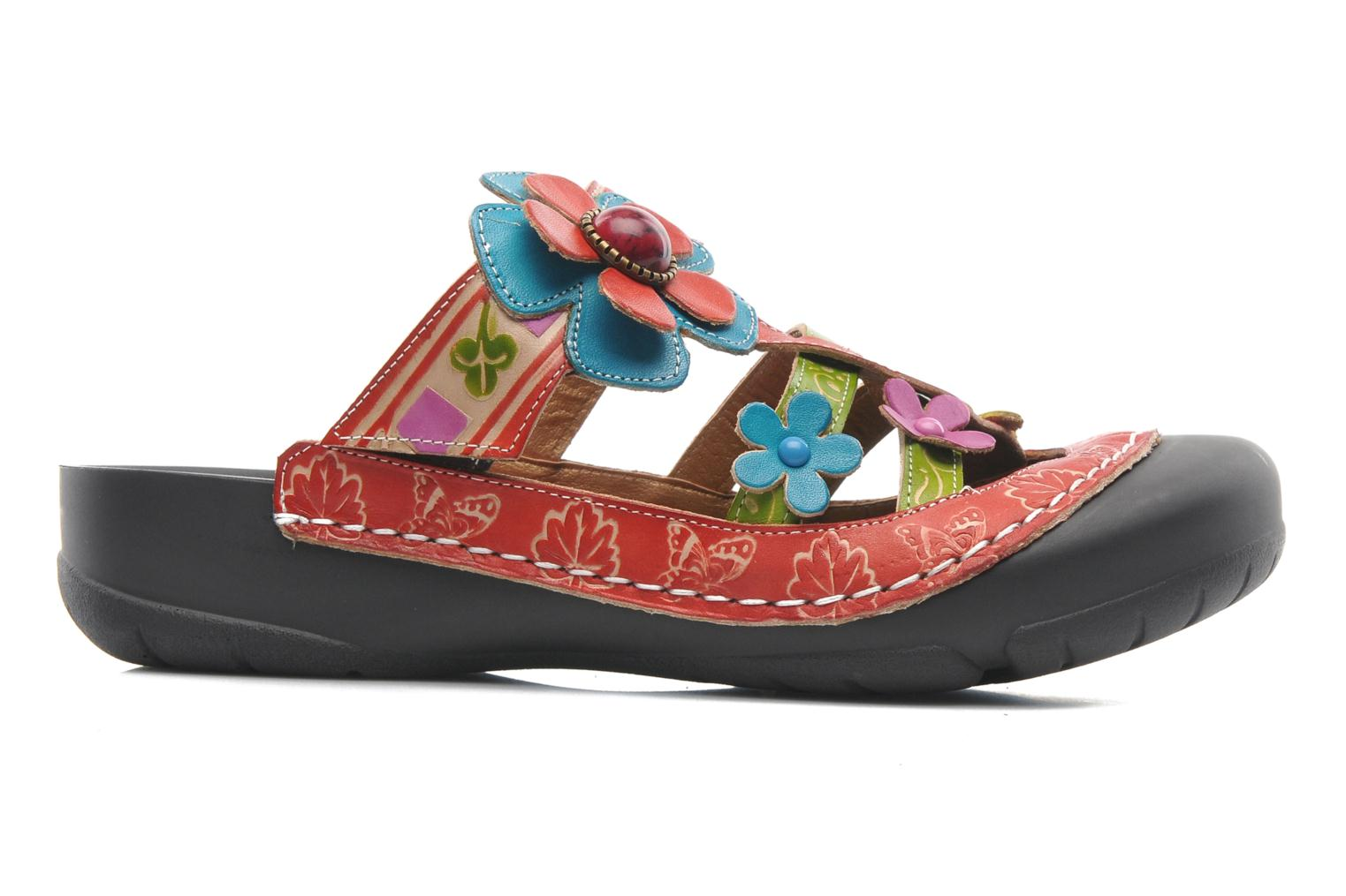 Mules & clogs Laura Vita Phenix Multicolor back view