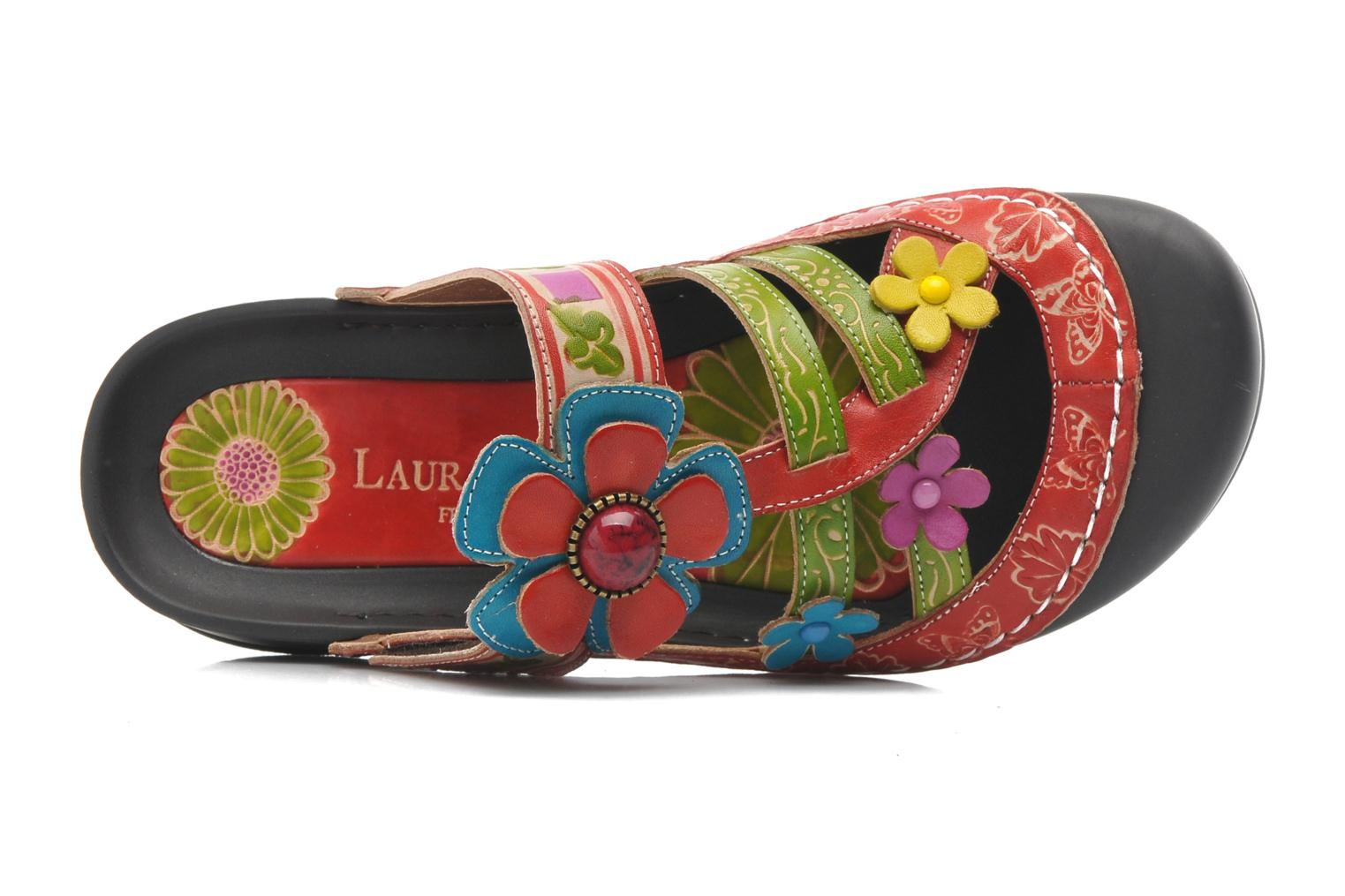 Mules & clogs Laura Vita Phenix Multicolor view from the left