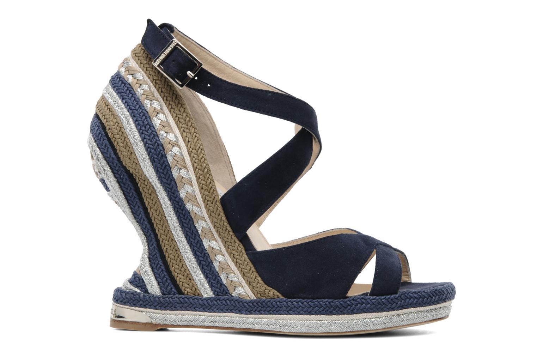 Sandalen Paloma Barcelo Mima blau ansicht von hinten