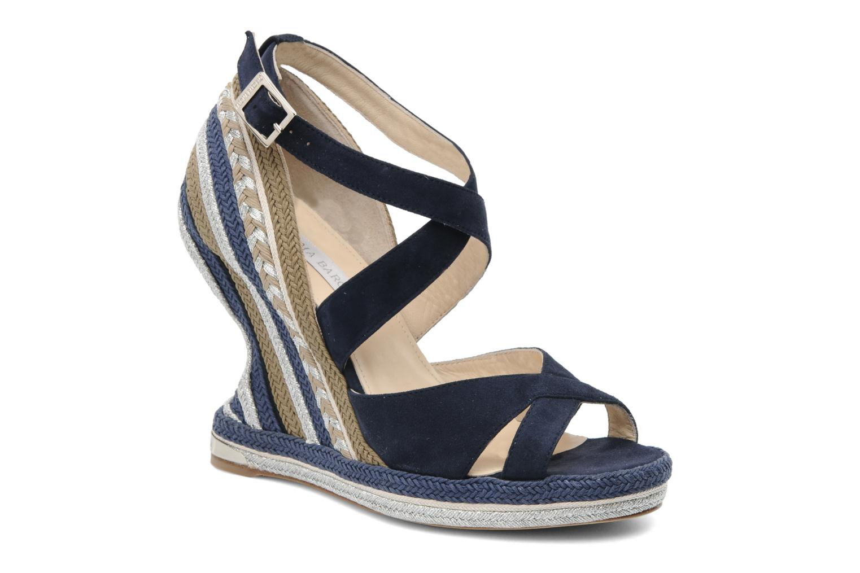Sandalen Paloma Barcelo Mima blau detaillierte ansicht/modell