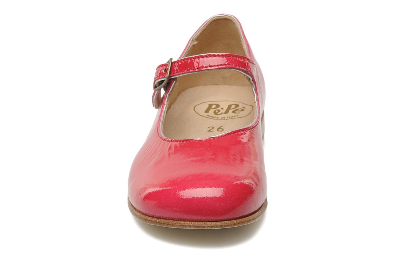 Ballerinas PèPè Curuba rosa ansicht von vorne