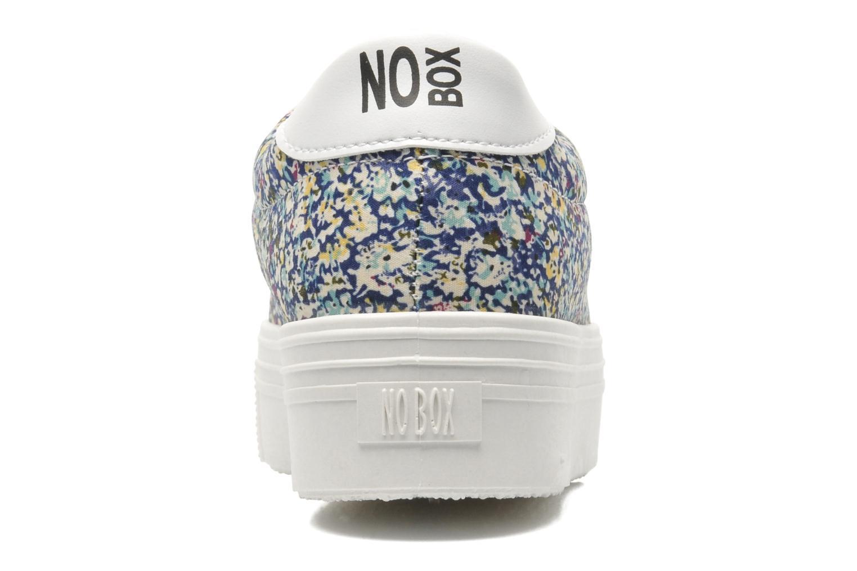 Sneaker No Box Alma blau ansicht von rechts