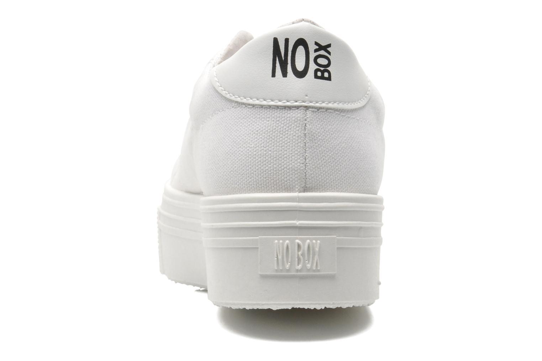 Sneaker No Box Alma weiß ansicht von rechts