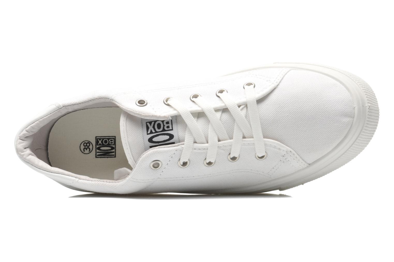 Sneaker No Box Alma weiß ansicht von links