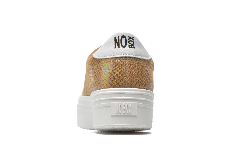 Sneakers No Box Alma Goud en brons rechts