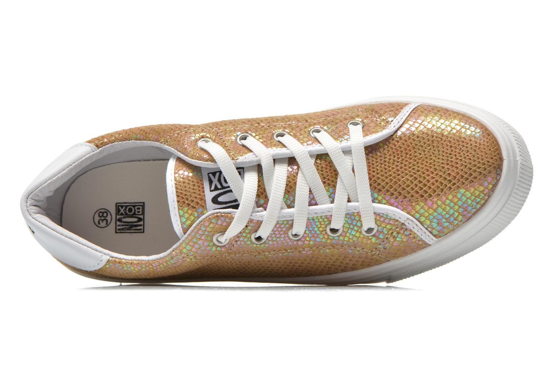 Sneakers No Box Alma Oro e bronzo immagine sinistra