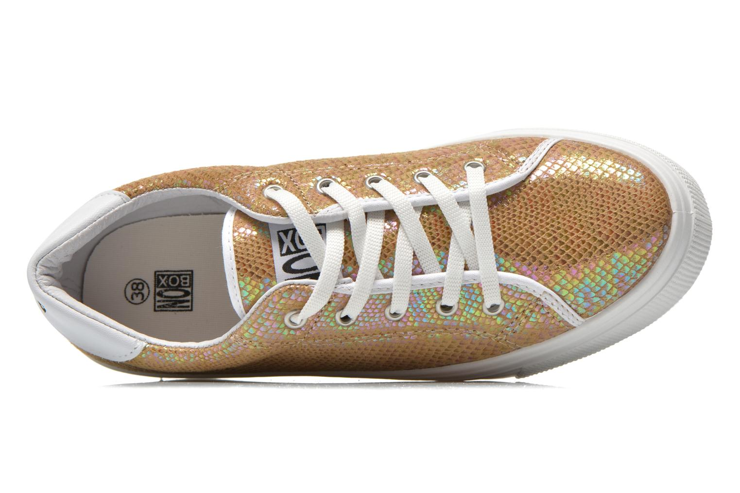 Sneaker No Box Alma gold/bronze ansicht von links