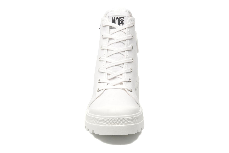 Baskets No Box Galia Blanc vue portées chaussures