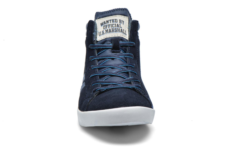 Baskets US Marshall Dofin M Bleu vue portées chaussures