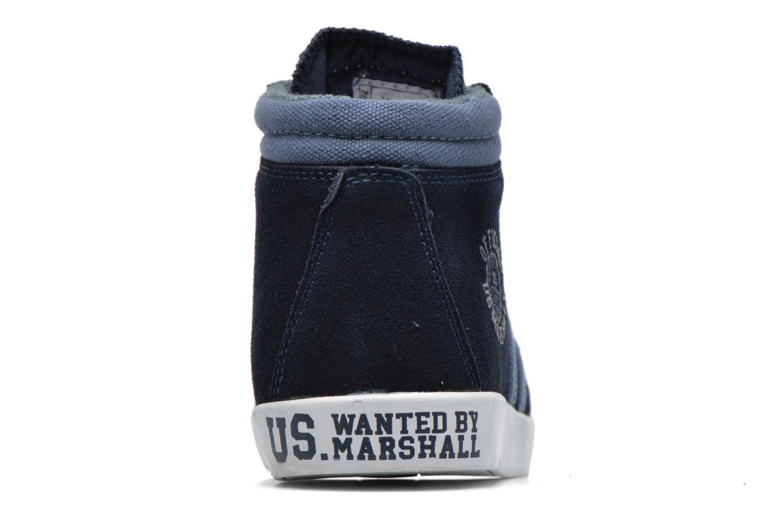 Baskets US Marshall Dofin M Bleu vue droite