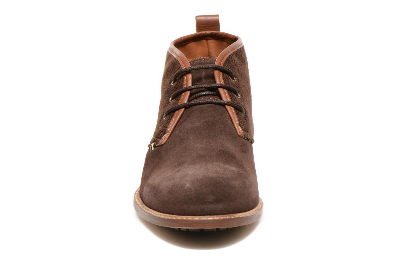 Chaussures à lacets M. Moustache Fernand Marron vue portées chaussures
