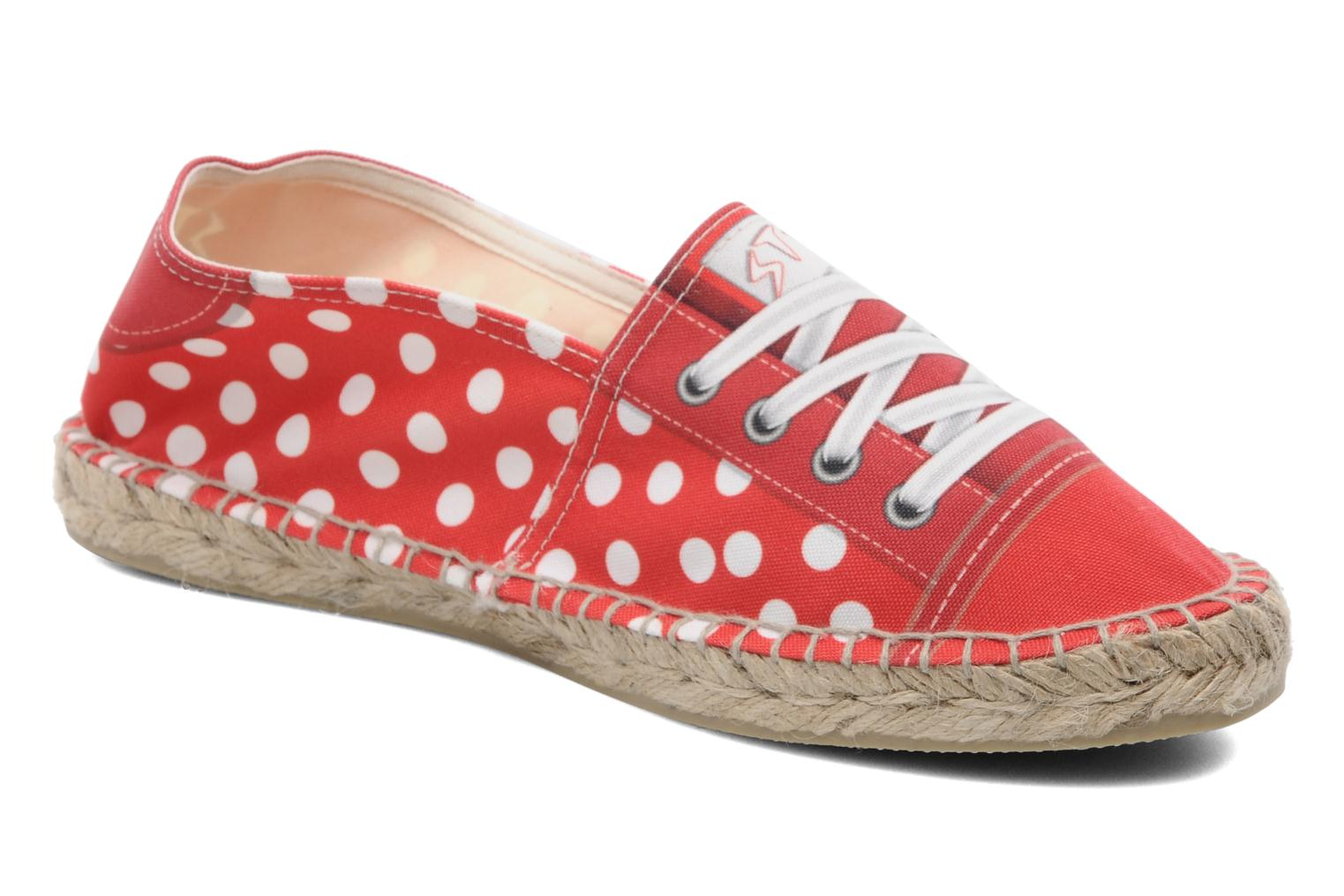 Espadrilles String Republic Lisa W Red detailed view/ Pair view