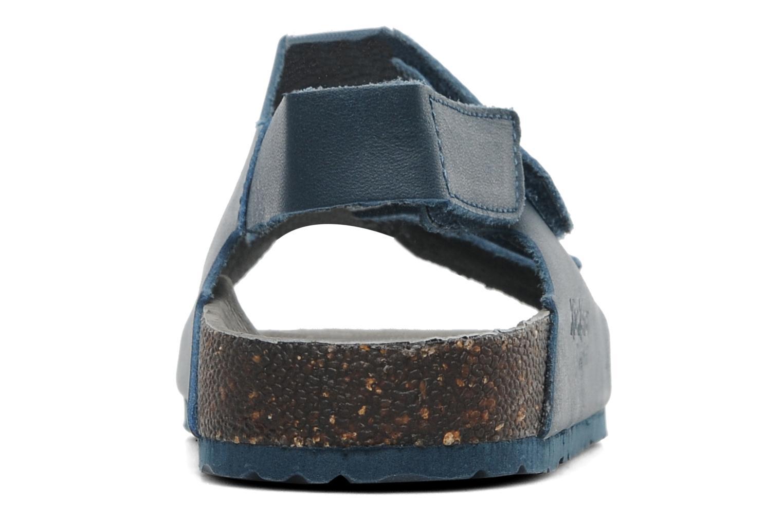 Sandales et nu-pieds Kickers Magiboy Bleu vue droite