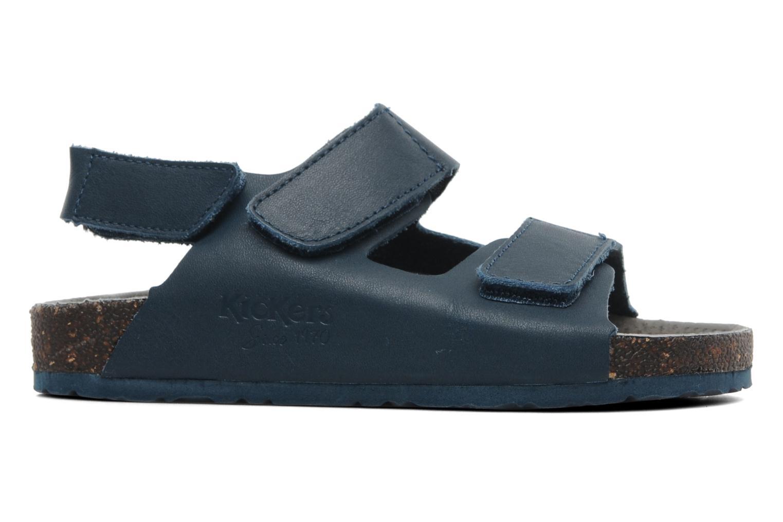 Sandales et nu-pieds Kickers Magiboy Bleu vue derrière