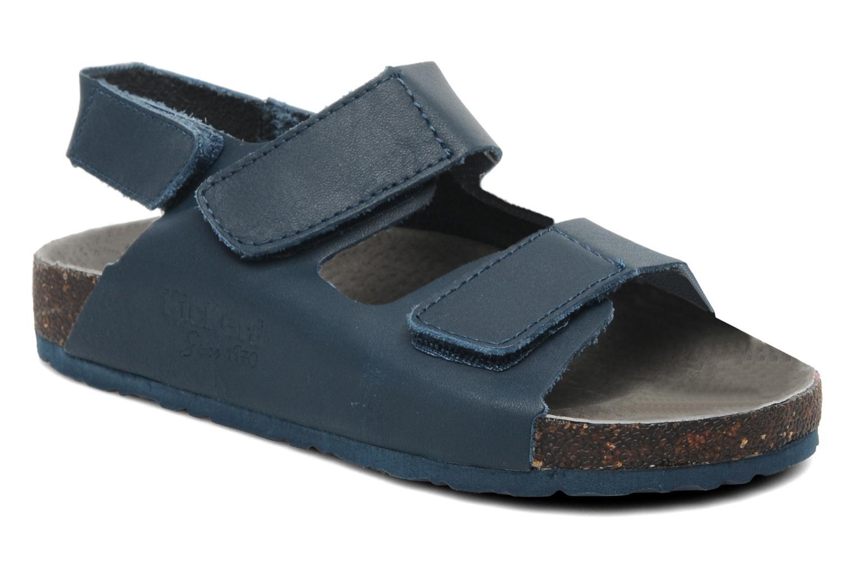 Sandales et nu-pieds Kickers Magiboy Bleu vue détail/paire