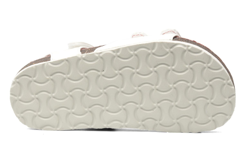 Sandalen Kickers Magipop weiß ansicht von oben