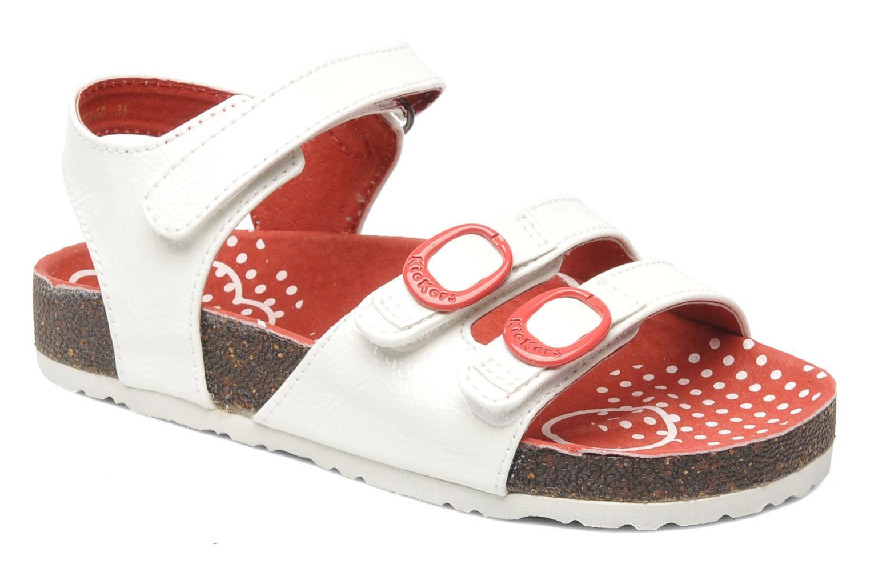 Sandalen Kickers Magipop weiß detaillierte ansicht/modell